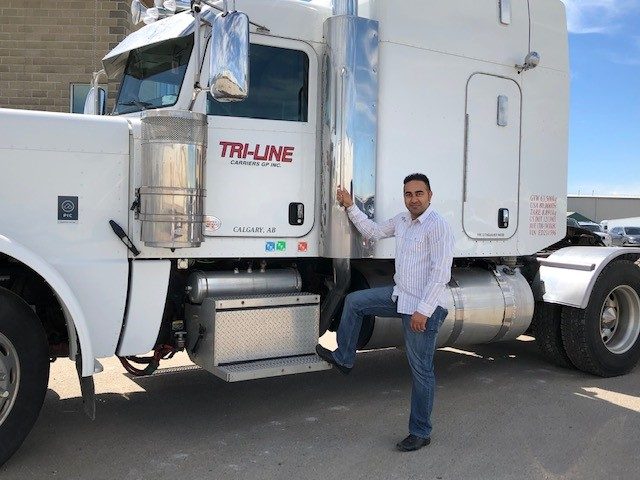 Trucking Jobs Calgary >> Driver Of The Month Amta Alberta Motor Transport Association